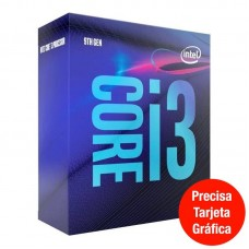 PROCESADOR INTEL CORE i3 9100F S1151 NO VGA