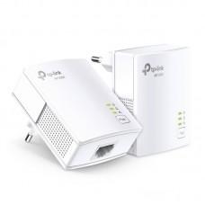 Adaptador Powerline TPLink TL-PA7017Kit 1000Mbps- Alcance 300m- Pack de 2