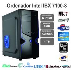 IBX  i3 7100-8GB-1TB