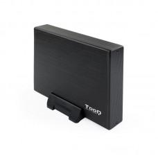 Caja Externa para Disco Duro de 3.5  TooQ TQE-3527B- USB 3.1