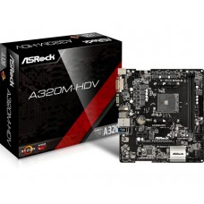 PLACA BASE AM4 ASROCK A320M-HDV HDMI