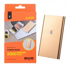 POWER BANK 5000mAh BU008 DORADA