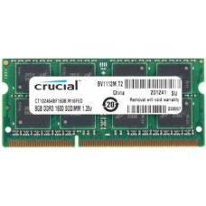 MEMORIA SODIMM DDR3 1600 8GB OEM