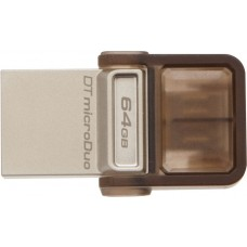 DISCO USB 3.0 64GB DTDUO USB-MICRO USB - OTG KINGSTON
