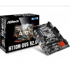 PLACA BASE S1151 ASROCK H110M-DVS