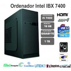 IBX  i5 7400-16GB-1TB-LT