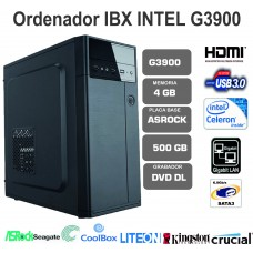 IBX  G3900-4GB-500GB-LT