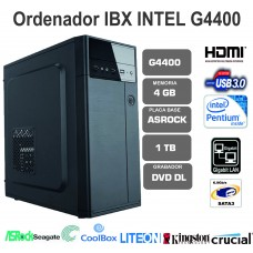 IBX  INTEL G4400-4GB-1TB