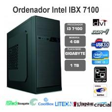 IBX  i3 6100-4GB-1TB