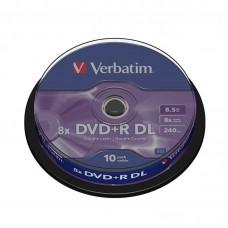 DVD+R DL T10 VERBATIM