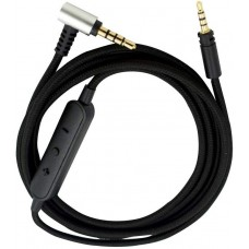 CABLE AUDIO JACK-JACK 3,5 CON MICROFONO