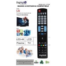 MANDO DISTANCIA COMPATIBLE LG LG-39