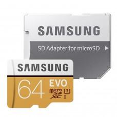 MICRO SD 64GB C10 SAMSUNG