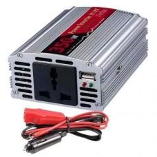 INVERSOR DE CORRIENTE 12V A 220V DE 350W + USB