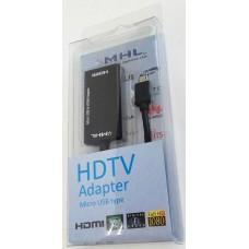 Adaptador MHL a HDMI + Micro USB