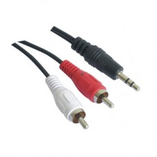 CABLE AUDIO 5 MTS JACK-RCA