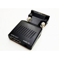 CONVERSOR VGA+SONIDO A HDMI