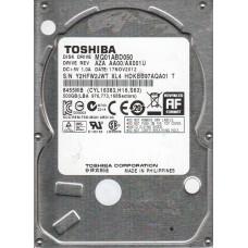 DISCO DURO 500GB 2.5 TOSHIBA MQ01ABD050