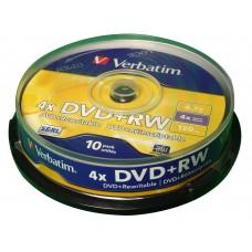 DVD+RW VERBATIM T10