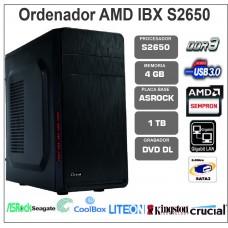 IBX S2650-4GB-1TB