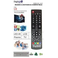 MANDO DISTANCIA COMPATIBLE LG LG-37