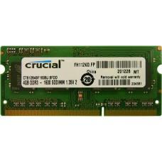 MEMORIA SODIMM DDR3L 1600 4GB OEM - 1,35V