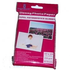 PAPEL FOTOGRAFICO 10x15 230gr 50 hojas