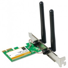 WIRELESS PCIe 300 Mbps Tenda W322E 2 antenas